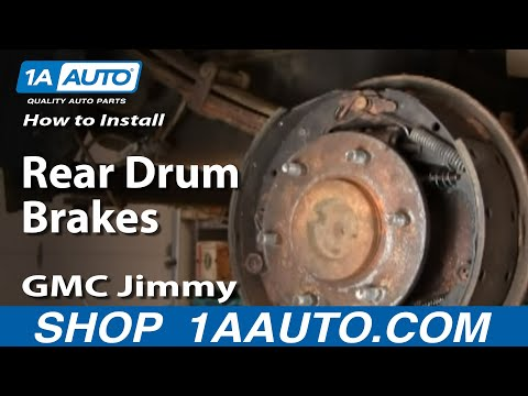 How To Install  / Replace Rear Drum Brake Wheel Cylinder GM Truck 1AAuto.com
