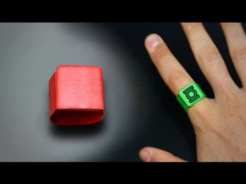 Origami: Simple Ring - Instructions in English (BR)