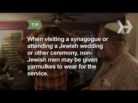 How to Wear a Kippah (Yarmulke)