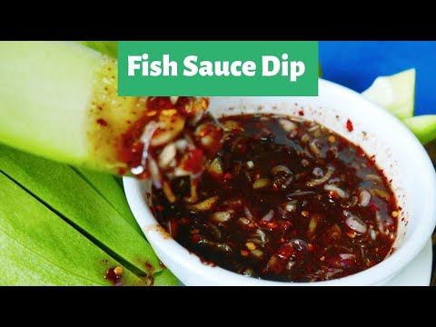How to make Sweet Fish Sauce for Green Mango