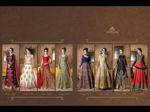 Latest Indian Dresses Collections 2017 || NIRVANA SAMPANN || Wedding Wear Traditional Designer