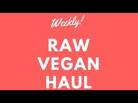 Weekly Raw Vegan Food Haul