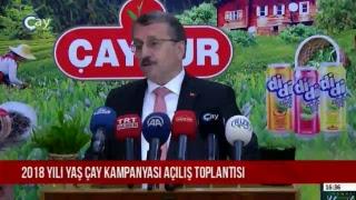 2018 Yili YaŞ Çay Kampanyasi AÇiliŞ Toplantisi 25.04.2018