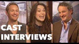 Download THE AFTERMATH Cast Interviews: Keira Knightley, Alexander Skarsgard, Jason Clarke Video