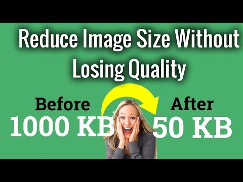 Reduce Image Size Without Losing Quality | 1 Click 20 Images |