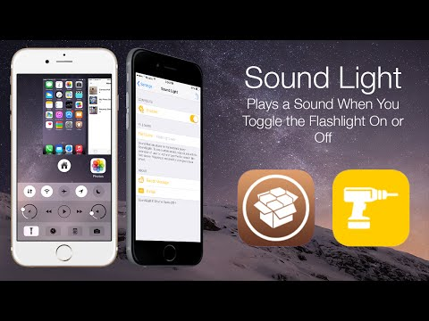Sound Light: Plays a Sound When You Toggle the Flashlight On or Off