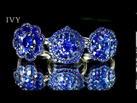 BLUE SAPPHIRE RINGS, IVY