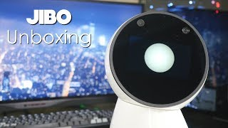 Unboxing my new Jibo Robot!