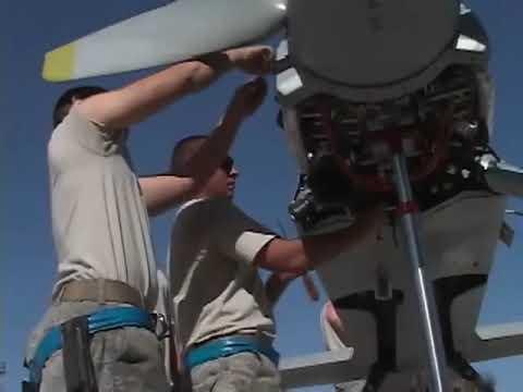 MQ-9 Reaper Drone Maintenance (Predator B)