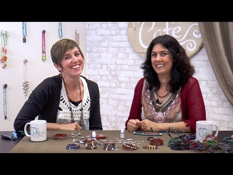 Artbeads Cafe – Multi-Strand Leather Bracelets with Cynthia Kimura and Candie Cooper