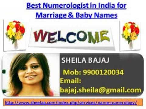 Best Numerologist in India, Numerology for Marriage and Baby Names by Numerology