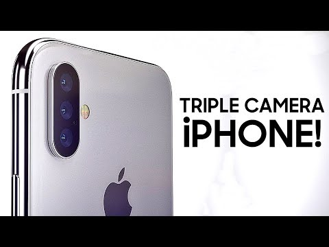 Apple To Bring Triple Cameras to iPhones | iPhone X Plus New Details