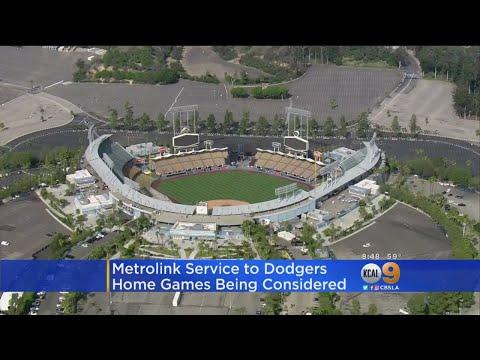 Metrolink Train Service For Dodger Games To Be Studied