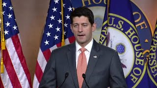 Ryan holds a news conference following the Trump-Putin Summi