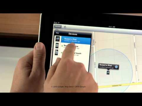 Using Find My iPhone with iOS 4.2