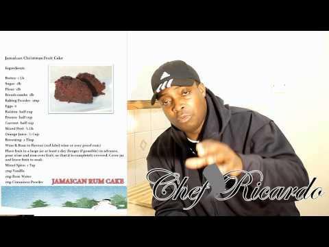Recipe For The Christmas Rum Fruit Cake Look In Description For Full Recipe