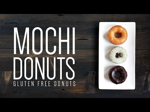 Mochi Donuts | Easy Gluten Free Donuts