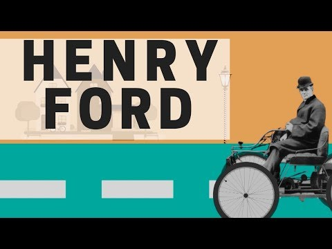 A Tribute to Henry Ford | Henry Ford | Ford Motor | Pioneer of Moving Assembly Line