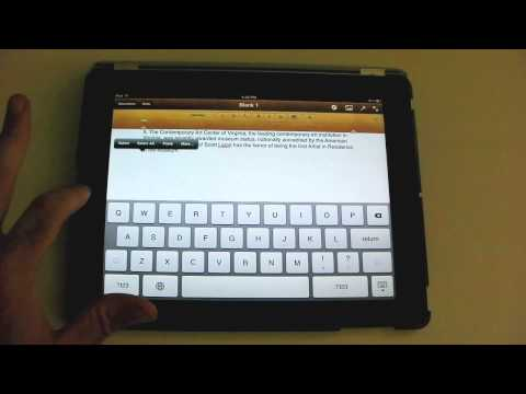 Taking a Screenshot - An iPad Mini Tutorial