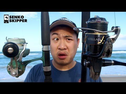 Beach fishing: $30 Vintage Reel VS $1200 Shimano Stella