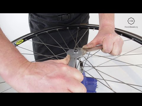 Adjust A Bike Wheel's Cup And Cone Front Hub