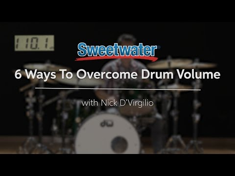 6 Ways to Overcome Drum Volume by Sweetwater