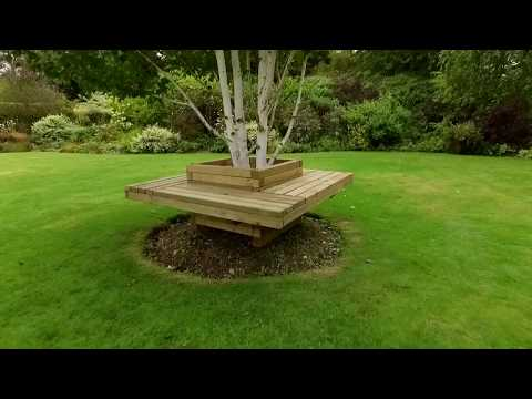 Features of Zest's Lucy Planter Bench
