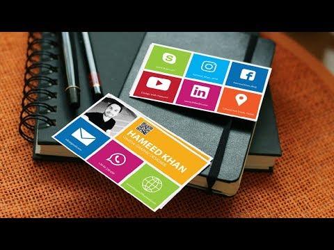 Creative Business Card in Adobe Illustrator  | Download the Business | Adobe Illustrator Tutorial