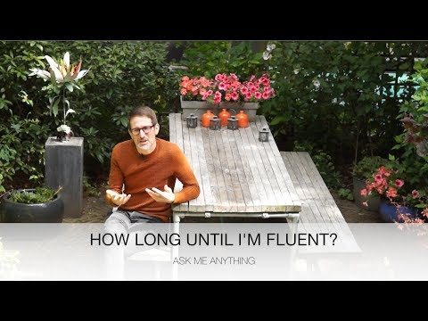 How long does it take to become fluent i German