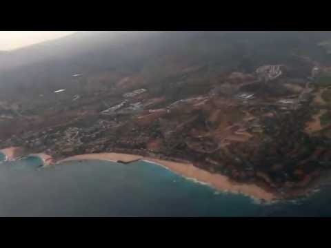 727 Landing in Cabo, Mexico - Jumpseat