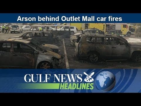 Arson behind Outlet Mall car fires  - GN Headlines