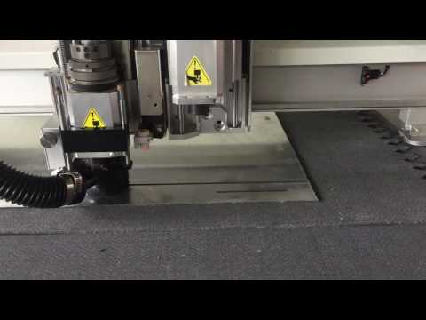 iECHO dibond Aluminum Composite Router V CUT function