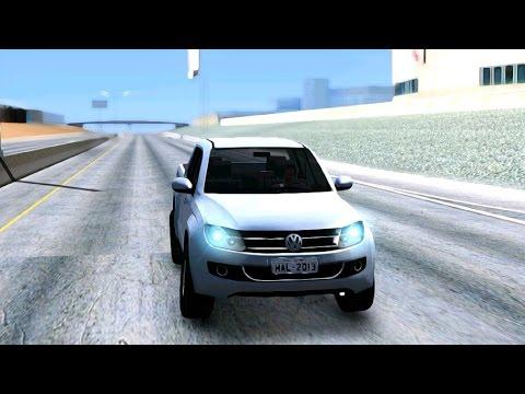Volkswagen Amarok 2 0 TDi AWD Trendline 2012 - GTA San Andreas MOD