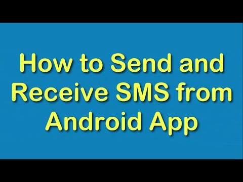 📌🤔 How to Send and Receive SMS From Android APP ?📌