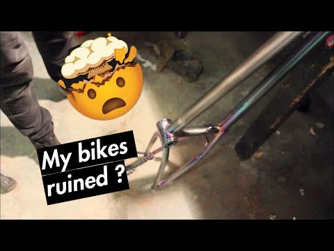 DESTROYING MY JETFUEL MAFIA BIKE ?!