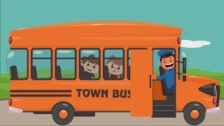 The Wheels On The Bus Nursery Song