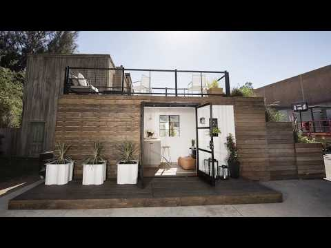 Container Home Built Before Your Eyes
