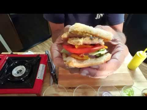 PEAMEAL BACON SLIDERS, RICHARD IN THE KITCHEN