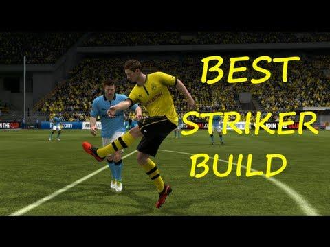 Fifa 13 Best Striker Build
