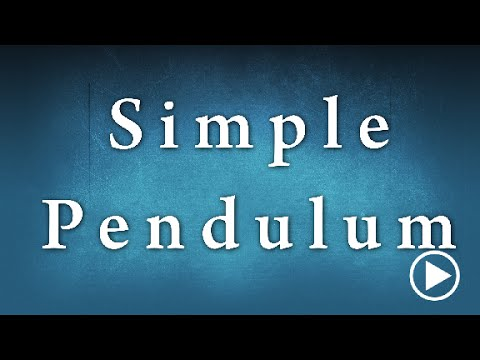 Simple Pendulum Experiment Edunovus Online Smart Practicals