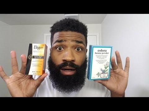 Chemical Beard Dye vs. Natural Beard Dye