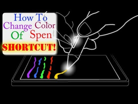 Tech-Talk: How To Change Colors While Writing with Spen