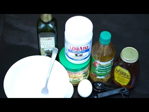 DIY- Homemade Deep Conditioner/Treatment For Damaged Hair