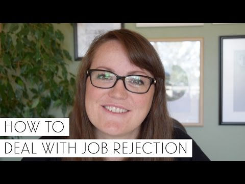 How To Deal With Job Rejection | Sonia Nicolson