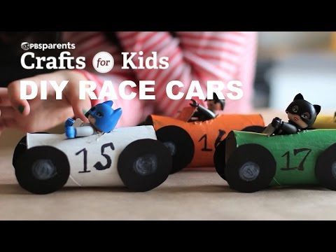 DIY TP Roll Race Cars | Crafts for Kids | PBS Parents