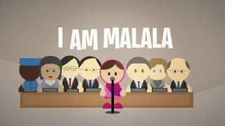 I am Malala - UN Speech - Video Animation