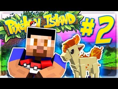 BUILDING MY POKEMON TEAM! - PIXELMON ISLAND S2 #2 (Minecraft Pokemon Mod)