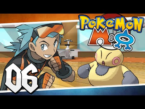 Pokémon Omega Ruby and Alpha Sapphire - Episode 6 | Dewford Gym Brawly!