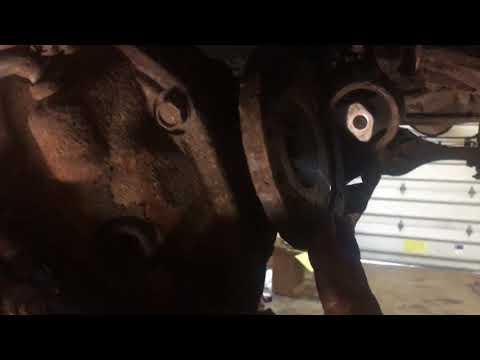 Nissan Xterra oil pan replacement