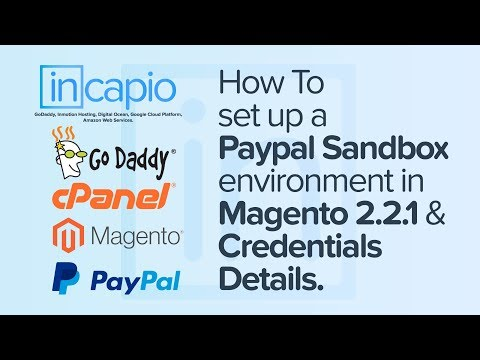 How to set up a Paypal Sandbox environment in Magento 2.2.1 | Credentials Details | GoDaddy